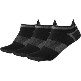 asics Lyte Socks 3 pack, black